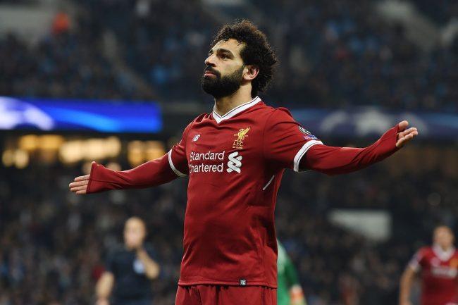 Cetak Gol Cantik, Salah berhasil bungkam para fans rasisnya Chelsea.