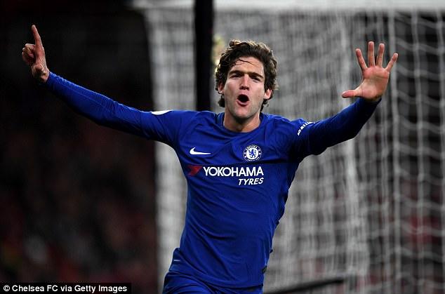 Marcos Alonso Ingin Hengkang dari Chelsea?